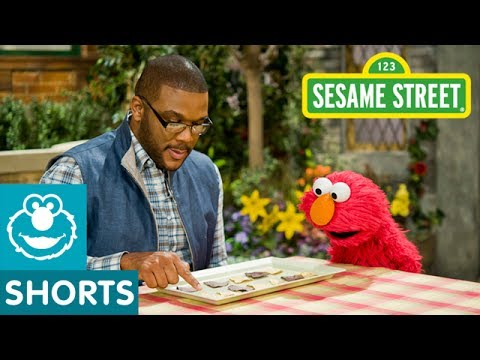 Sesame Street: Tyler Perry & Elmo Eat a Plate of Math