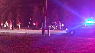 3 people hurt, 1 person airlifted, in Suffolk accident