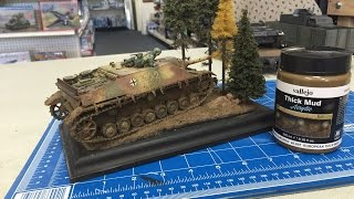 Building the Ambush Diorama using the new weathering and Diorama Effects from Vallejo