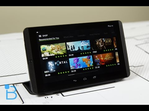 NVIDIA SHIELD Tablet Unboxing!