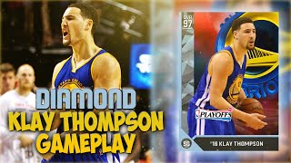 NBA 2K16 MYTEAM DIAMOND KLAY THOMPSON HOLY #%$@ A MUST COP!