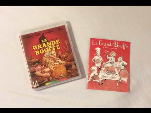 La Grande Bouffe (The Big Feast) - Arrow Video (1973) Blu Ray Review and Unboxing