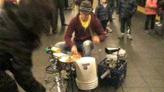 Great drummer Times Square