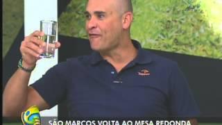 Marcos e Mauro Beting no Mesa Redonda - 26/08/12