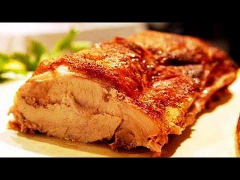 Как запечь мясо ( свинину ) в фольге.  | How to bake the meat (pork) in the foil.
