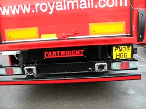 Royal Mail Safety Concept Truck