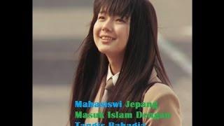 Mahasiswi Jepang Masuk Islam Dengan Tangis Bahagia di acara Dr Zakir Naik