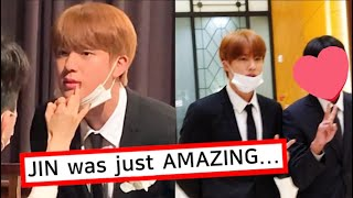 BTS Jin was Spotted at his Brother's Wedding, He made All the Guests Laugh!