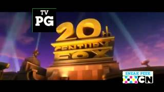 20th Century Fox Opening With Cartoon Network Logo And TV PG Rating Logo!   YouTube