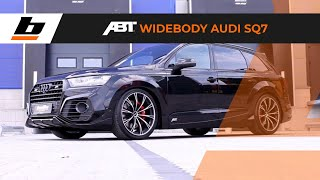 Botta Exclusive AUDI SQ7 ABT SPORTSLINE Widebody