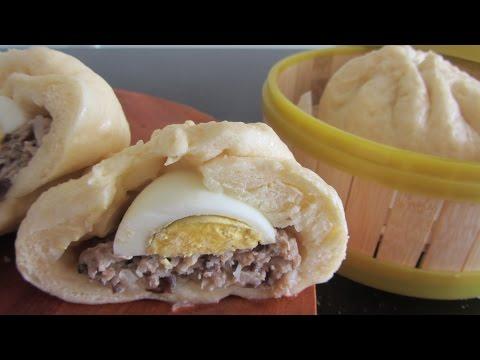 Как приготовить вьетнамские булочки Бань Бао Bnh bao рецепт видео китайские паровые булочки