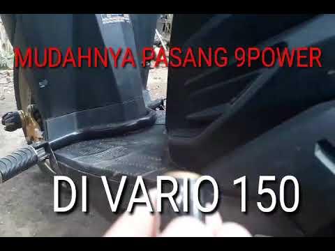 Pasang 9power di VARIO150 gampang bro!!!