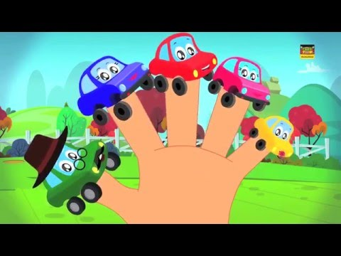 Autos Finger Familie | Little Red Auto | Finger Family Song