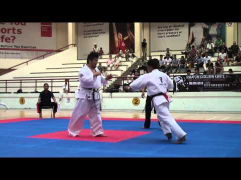 Kyokushin Karate Tournament 2012_ Kenji Sori vs Bibek Limbu Image 1