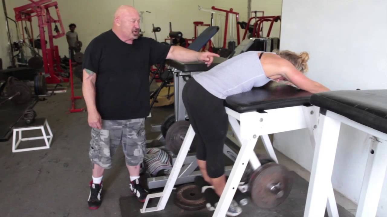crossfit the reverse hyper with louie simmons youtube