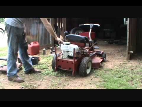 Revive old Snapper lawnmower part 1