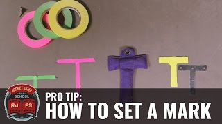 PRO TIP: How to Set a Mark (for your actors)
