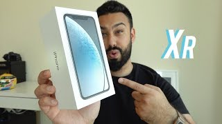 iPhone XR UNBOXING and REVIEW