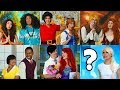 WHOS GOING TO PROM? FROZEN ELSA ARIEL MOANA TIANA BELLE & MERIDA NEED PRINCES (Totally TV Dress Up)
