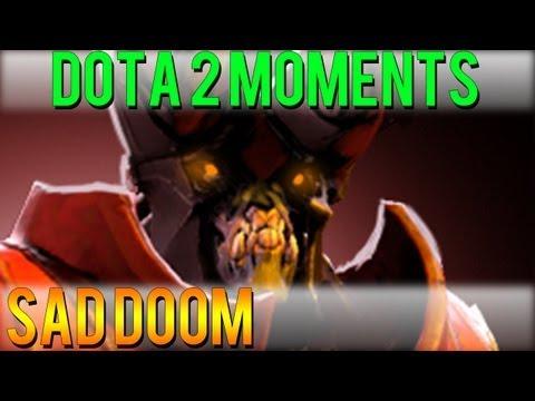 Dota 2 Moments - Sad Doom