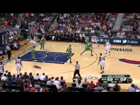 NBA Playoffs 2012: Boston Celtics Vs Atlanta Hawks Highlights April 29, 2012 Game Recap