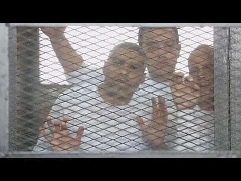 Al Jazeera journalists jailed in Egypt, supporters stunned