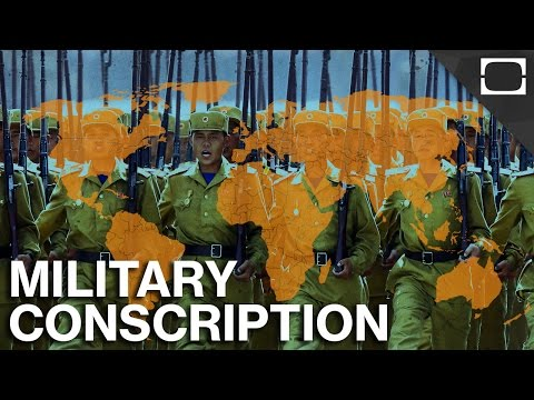 Which Countries Still Use The Military Draft?