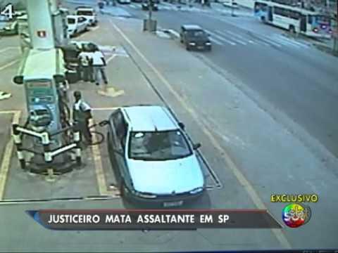 SP: Homem presencia assalto e mata bandido
