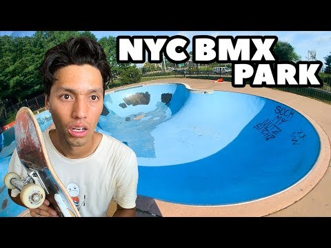 New York's MASSIVE BMX Skatepark Is Terrifying