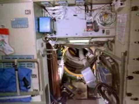 Weightlessness in ISS