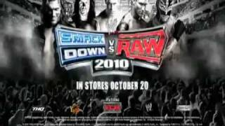 WWE | SmackDown Vs. RAW 2010 | Official Roster