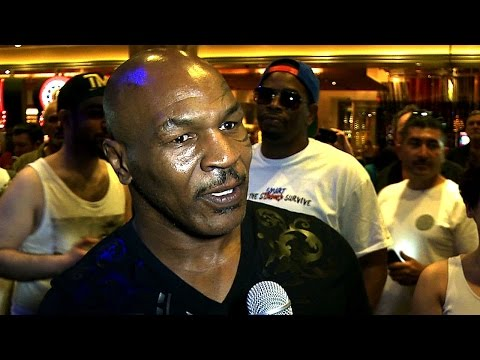 Mike Tyson on Mayweather vs. Pacquiao - UCN Exclusive