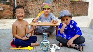 Trò Chơi Phú Ông Và Thằng Bờm : Chiếc Bình Cổ - Bé Nhím TV - Đồ Chơi Trẻ Em Thiếu Nhi