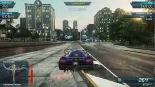 NFS Most Wanted 2012: Koenigsegg Agera R vs Lexus LFA