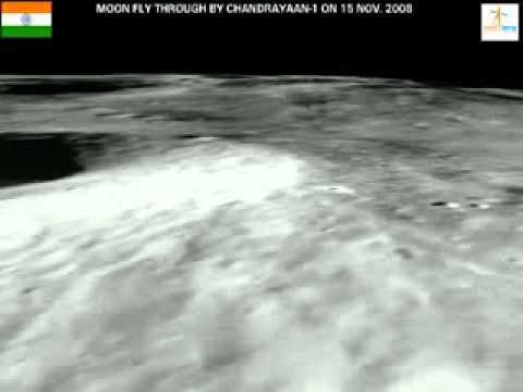 Lunar Flyby of Chandrayaan-1
