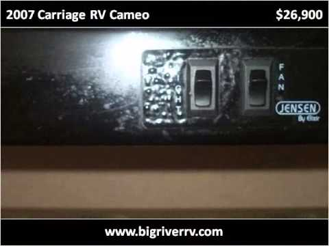 2007 Carriage RV Cameo Used Cars Blountstown FL