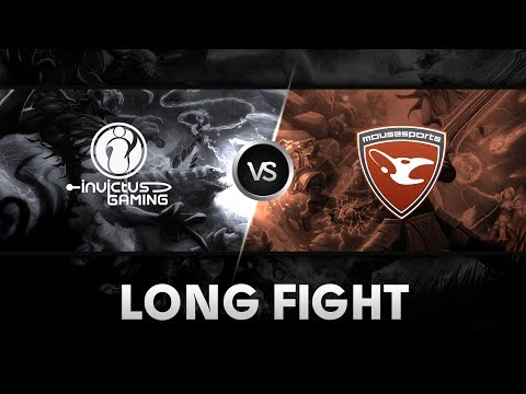 Long fight by Mousesports vs iG @ ESL One Frankfurt