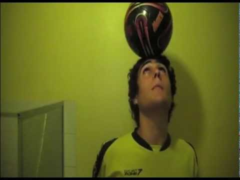 How to balance a ball on your head pro x football tutorials