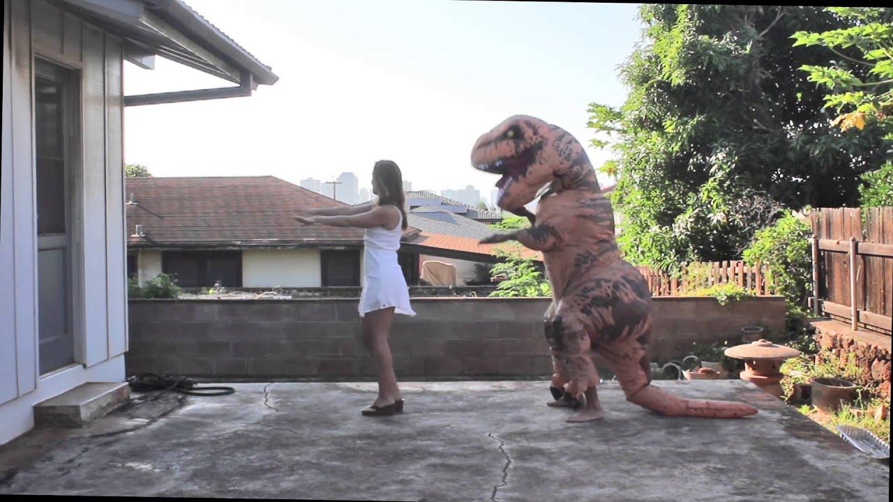 Teaching A T-Rex to Macarena