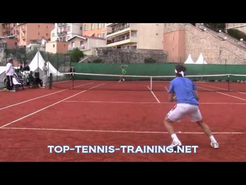 David Ferrer vs Bernard Tomic Point Play (Court Level)