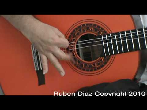 Basic Flamenco Right Hand Techniques