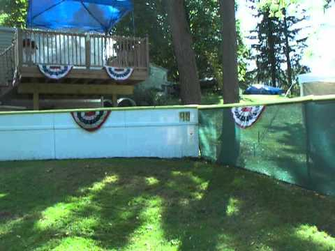 backyard wiffle ball stadium youtube