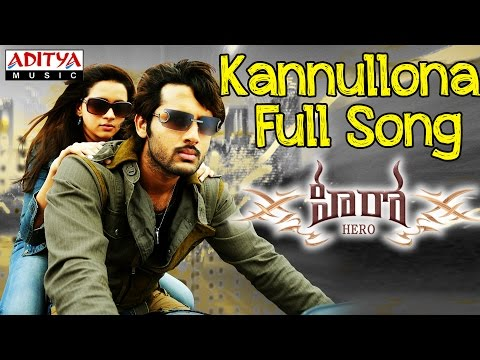 Kannullona Full Song Ii Hero Movie Ii Nithin, Bhavana video