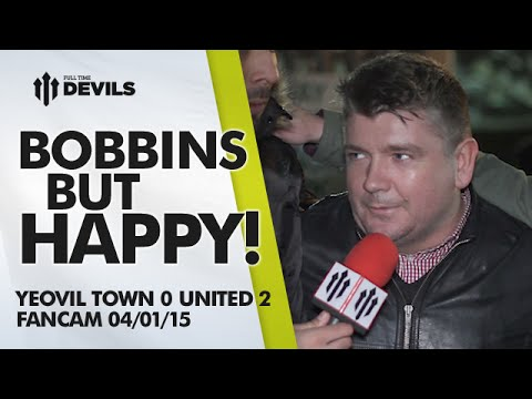 Bobbins but Happy! | Yeovil Town 0 Manchester United 2 | FANCAM
