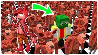 WHO IS THE TRUE FOXY THE PIRATE? - MINECRAFT FNAF