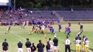 High School Girl QB leads team to TD