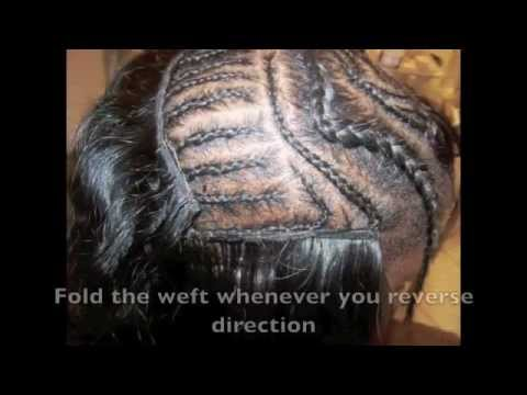 ☏ How To: Meagan Good/Aaliyah Swoop Bang Sew In Tutorial (using Arjuni Straight hair)
