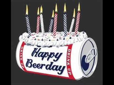 Alcohol Birthday Cake