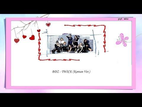 [THAISUB] TWICE (트와이스) - BDZ (Korean Ver.)