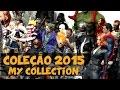 Minha coleção Hot Toys, DBZ SH Figuarts, Cloth Myth EX - 12/2015 / DiegoHDM